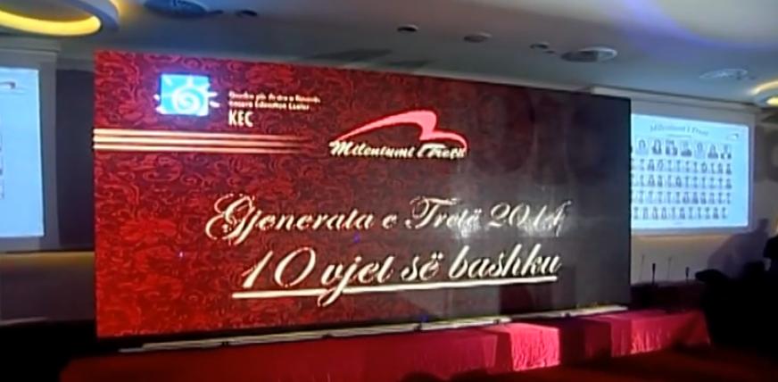 """10 vjetori i """"Mileniumit të Tretë"""" dhe Ceremonia e Diplomimit"""