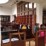 """Vizita në Bibliotekën Kombëtare dhe Universitare """"Pjetër Bogdani"""""""