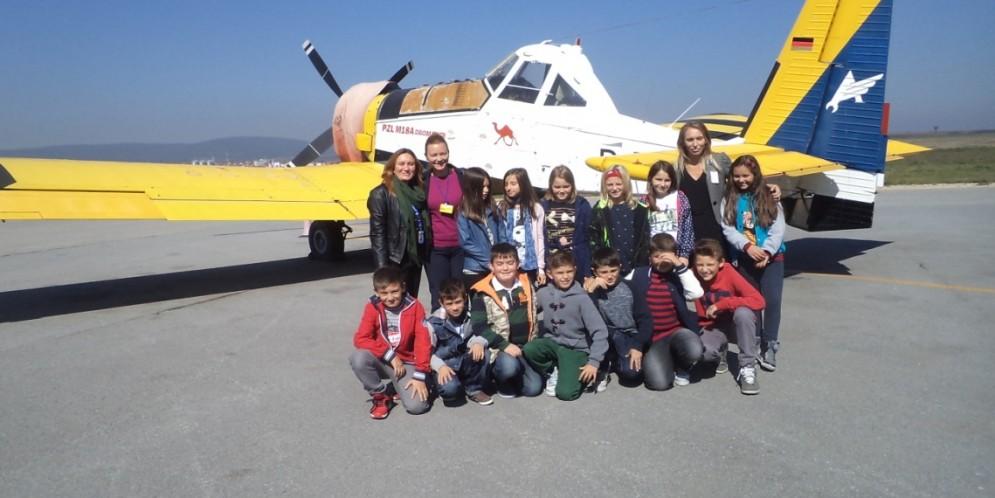"""Vizita në aeroportin ndërkombëtar të Prishtinës """"Adem Jashari"""""""