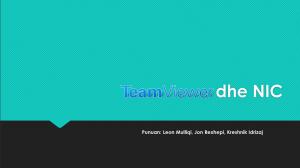 Teamviewer dhe NIC
