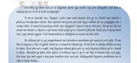Shkruan: Valëza Stanovci, VIII/1