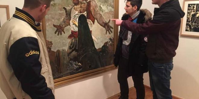 Vizitë në Galerinë Kombëtare të Kosovës