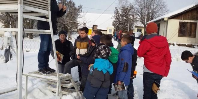 Vizitë në Institutin meteorologjik të Prishtinës