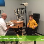 Vizitë në Klinikën Gjermane të Syrit