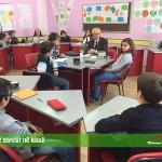 Vizita e gjyshit në klasë