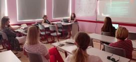 Prezantimet në departamentin e gjuhëve të huaja