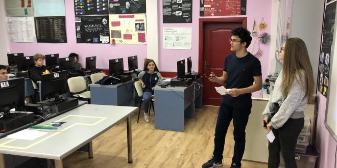 Prezantim i projekteve nga klasat e nënta në lëdën e TIK-ut